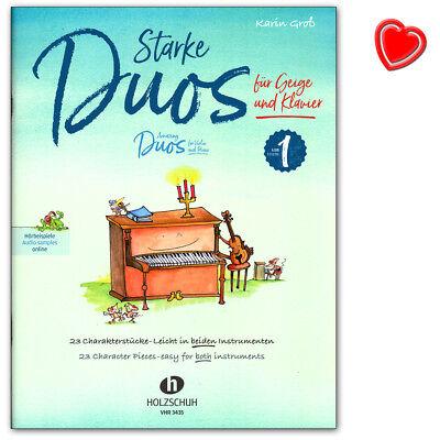 Starke Duos für Geige und Klavier - 23 Charakterstücke - VHR3435 - 9783864341014