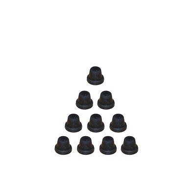 10x Rubber bleed screw caps brake bleed nipple caps grease nipple covers NC1Bx10