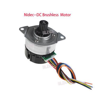 Nidec 24h404h Bldc 12v24v Pwm Brushless Dc Motor Cwccw W Dual Channel Encoder