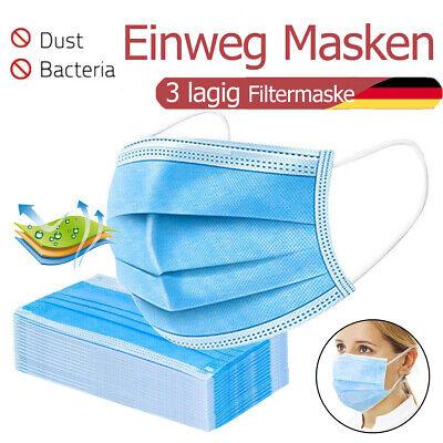 1000x Maske - Mundschutz Nasen Schutz Gesichtsmaske Einweg für Ärzte Apotheke