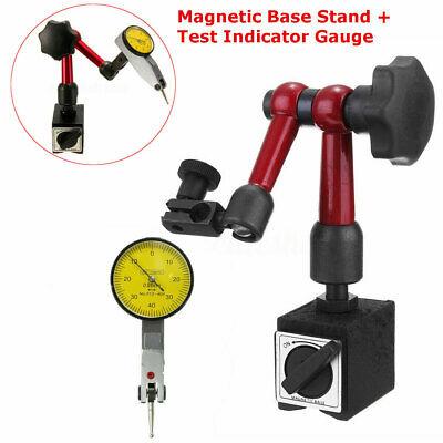 Adjustable Magnetic Base Indicator Stand Holder Tool For Digital Level Dial Test