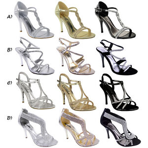 WOMENS-LADIES-DIAMANTE-HIGH-HEEL-PROM-SHOES-WEDDING-BRIDAL-EVENING-SANDALS-SIZE
