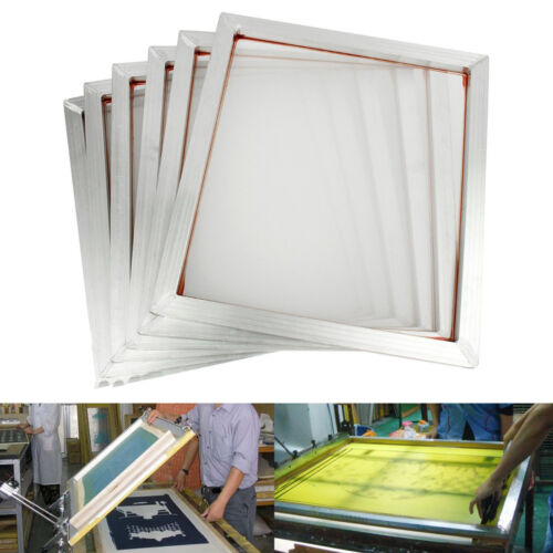 "Techtongda 6Pcs 23""*31"" Screen Printing Frame Aluminum Internal Size 50*70cm"