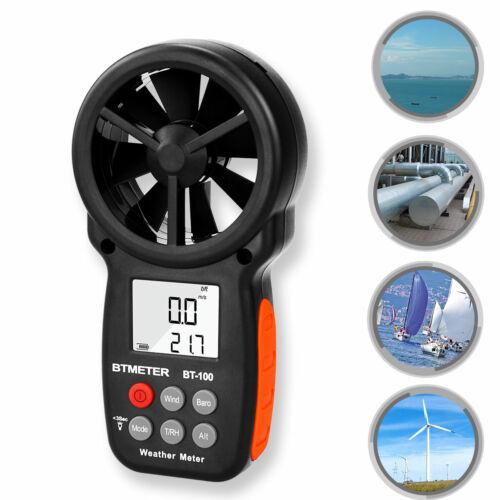 Digital Anemometer Wind Meter Handheld Digital Wind Speed Gauge BTMETER BT-100