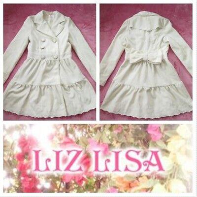 Liz Lisa white Coats Lolita Hime Gyaru Very Cute (k196)