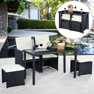 5pcs ensemble salon de jardin si ges table tress e meubles for Ebay salon de jardin