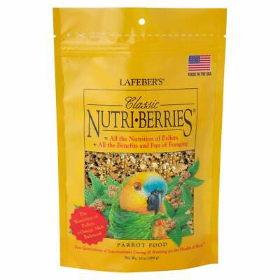 LAFEBER'S Classic Nutri-Berries Pet Bird Food for Parrots 10