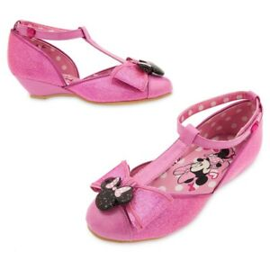 Minnie Mouse Costume Shoes (size 7/8)