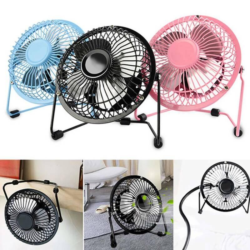 4 inch usb fans mini small portable