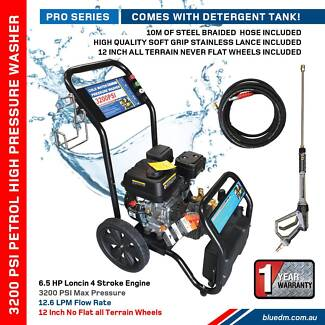 High Pressure Washer 3200 & 4000  PSI – Petrol - Patio **NEW** Kewdale Belmont Area Preview