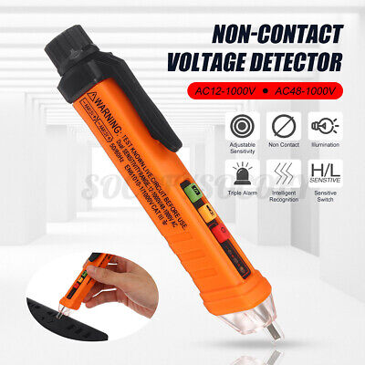 Acdc 121000v Non-contact Lcd Electric Test Pen Voltage Digital Detector 2