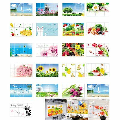 Kitchen Oil Proof Wall Decal Stickers Vinyl Art Home Decor Quote Removable Mural