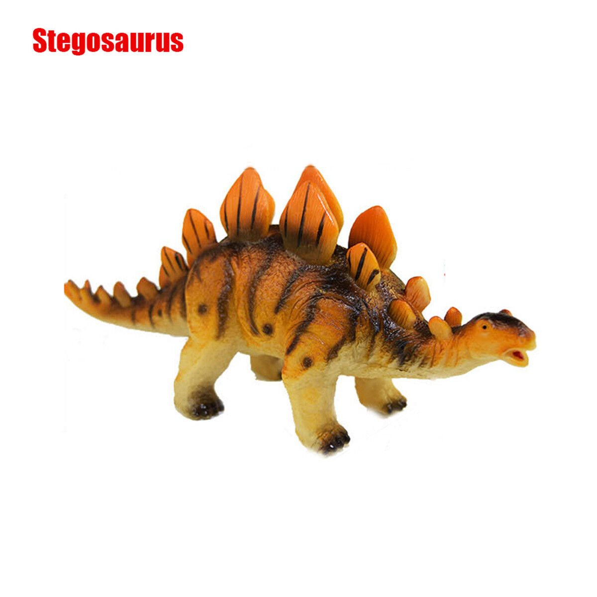 CR Large Soft Rubber Stuffed Dinosaur Toy Model Action Figures Play For Kid HOT
