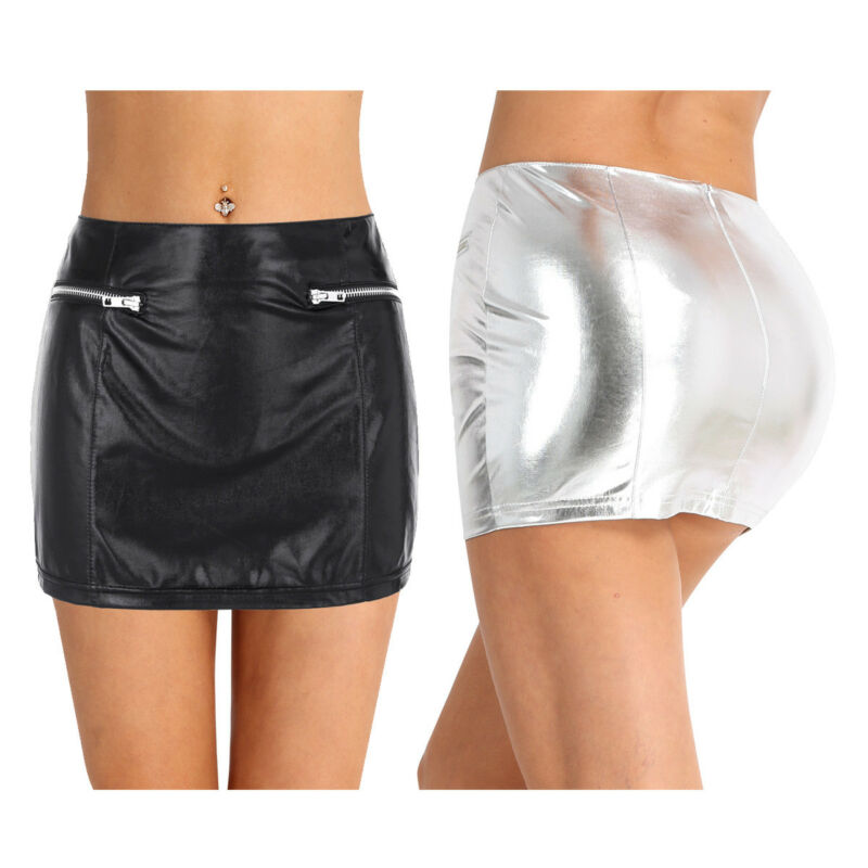 d89e4f4ff Women Ruffle Pleated Mini Skirt School Girl Role Play Costume Micro Skirt  Shorts
