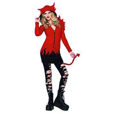 Devil Costume Adult Halloween Fancy Dress (Halloween Costumes Devil)