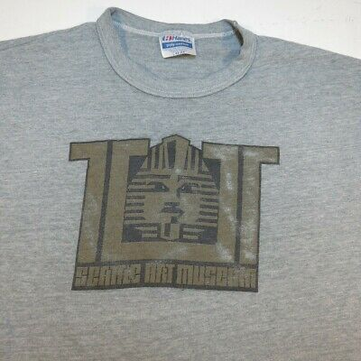 Paper Art Museum (VINTAGE PAPER THIN Seattle Art Museum KING TUT TEE T SHIRT Sz Mens L cotton poly)