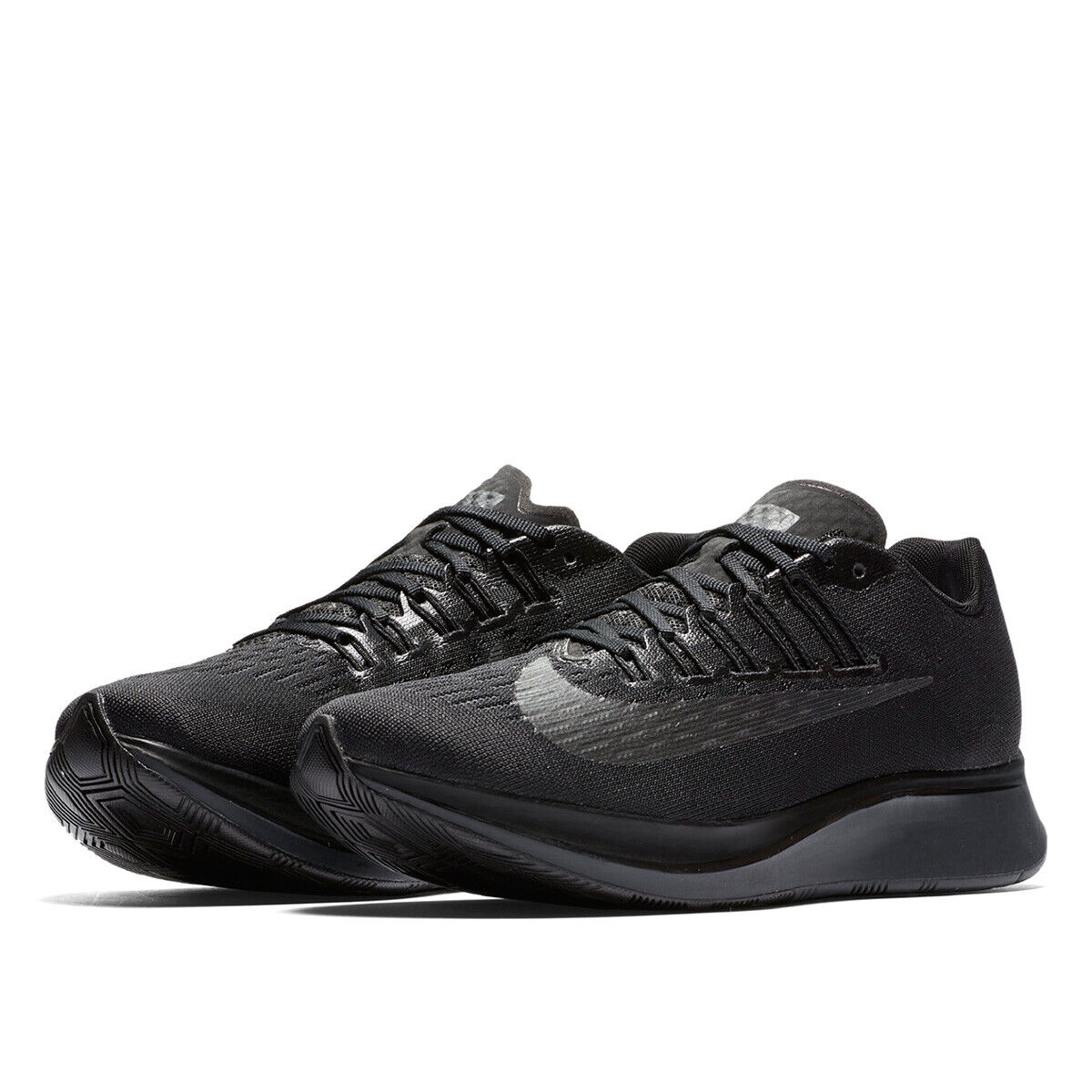 Nike Zoom Fly Running Shoes Black 897821-003 Women's Size 8,
