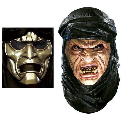 Deluxe Immortal Latex Mask with Overmask Costume Accessory Mens 300 - 300 Immortals Costume