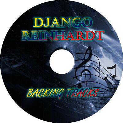 DJANGO REINHARDT GUITAR BACKING TRACKS MP3 CD BEST MUSIC PLAY ALONG GYPSY