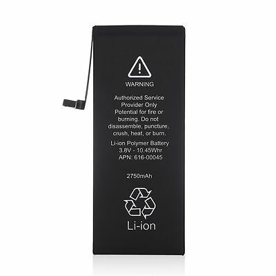 Battery for iPhone 6s Bonus 2750mAh Li-ion Internal Replacement w/ Flex Cable