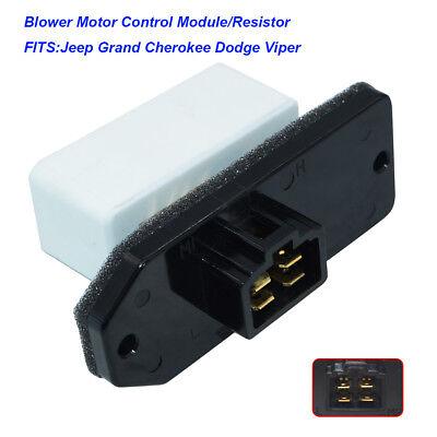 New Heater Blower Motor Resistor for Dodge Jeep Grand Cherokee RU1061 - Grand Am Heater Blower Motor