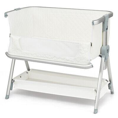 Baby Bed Side Crib Portable Adjustable Sleeper Bedside Bassi