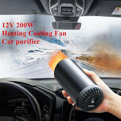 Cup-shaped Car Cigarette Lighter Heater Cooling Fan Demister Defroster Purifier