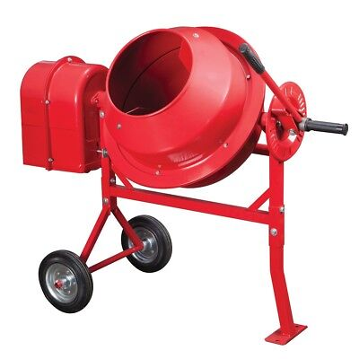 1-14 Cubic Ft. Portable Cement Mixer Free Shipping