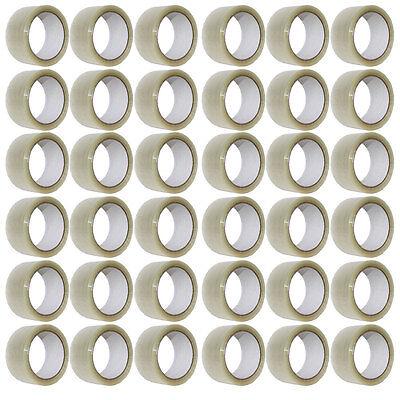 36 x Rollen Paket Klebeband 66m x 50mm Transparent Pack Paketband NEU
