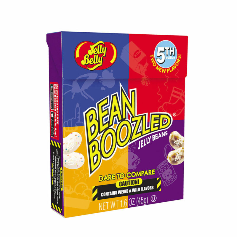 Bean Boozled Game 3rd, 4th & 5th Editions & Harry Potter Bertie Bott's JellyBelly