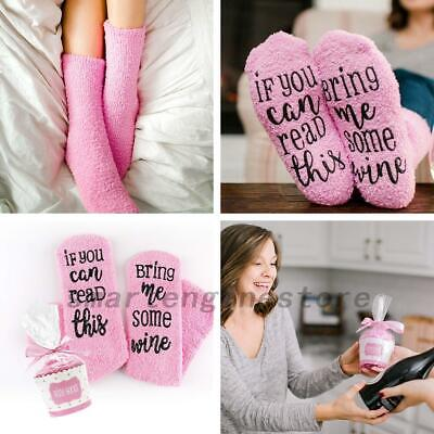 Christmas Thermal Novelty Funny Socks Gifts For Women Lady&Girls US ()