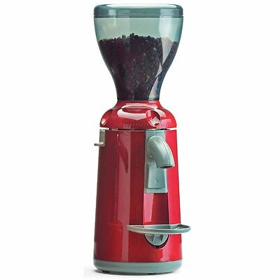 Nuova Simonelli Grinta Italian Coffee Espresso Grinder 50mm Flat Burrs Red 110v