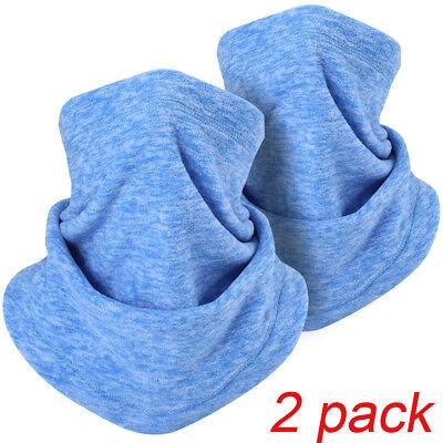 275d1081380 Windproof Polar Fleece Thermal Neck Warmer Winter Face Mask Snood Hood Hat  Scarf