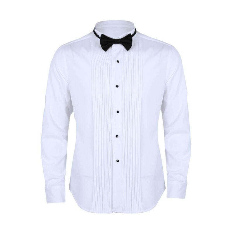 tuxedo shirt men