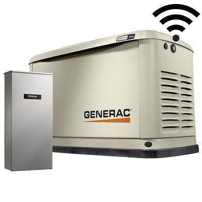 Generac 70361 Standby Generator 16kw Guardian 100a W Wi-fi Transfer Switch New