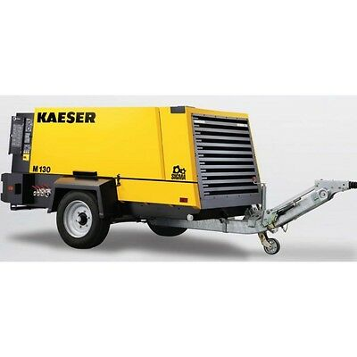 New Kaeser M130 Towable Diesel Air Compressor Tier Iv Final Kaeser M130