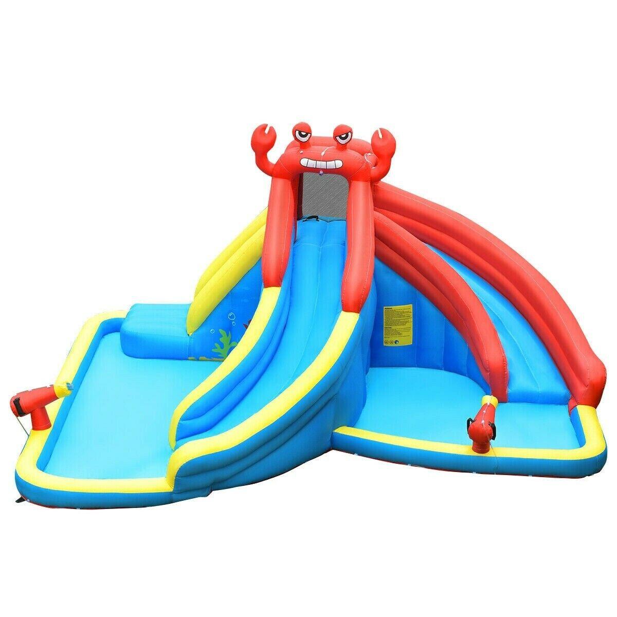 New Big Slide Inflatable Bounce House Castle Kids Jumper Bou