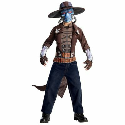 Cad Bane Costume Kids Star Wars Halloween Fancy Dress Complete Excellent Medium](Kids Bane Costume)