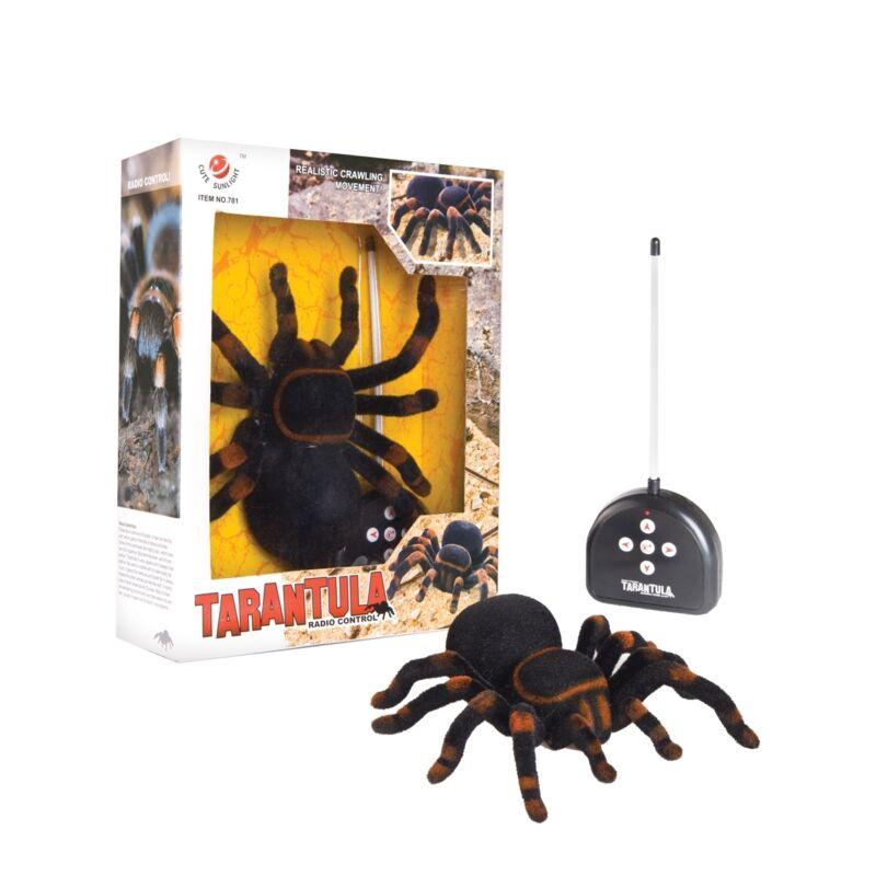 "Spider 10"" Radio Operated Radio-Control Tarantula Large Halloween Game FGH70484"