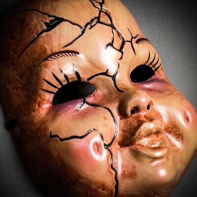 Scary Bloody 'Happy Death Day 2U' Masquerade Baby Ghost Killer Mask Halloween](Happy Scary Halloween)