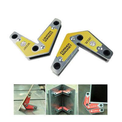 2 Pcs Px-6090s Strong Welding 60 90 Corner Magnet Magnetic Holder Industrial