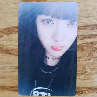Lucy WekiMeki 1st Single Album Kiss, Kicks Official Photocard Genuine Kpop