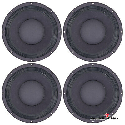 4-PACK Peavey 10 INCH 8ohm bass guitar speaker BAM-1038-MI Woofer by Eminence for sale  Shipping to South Africa