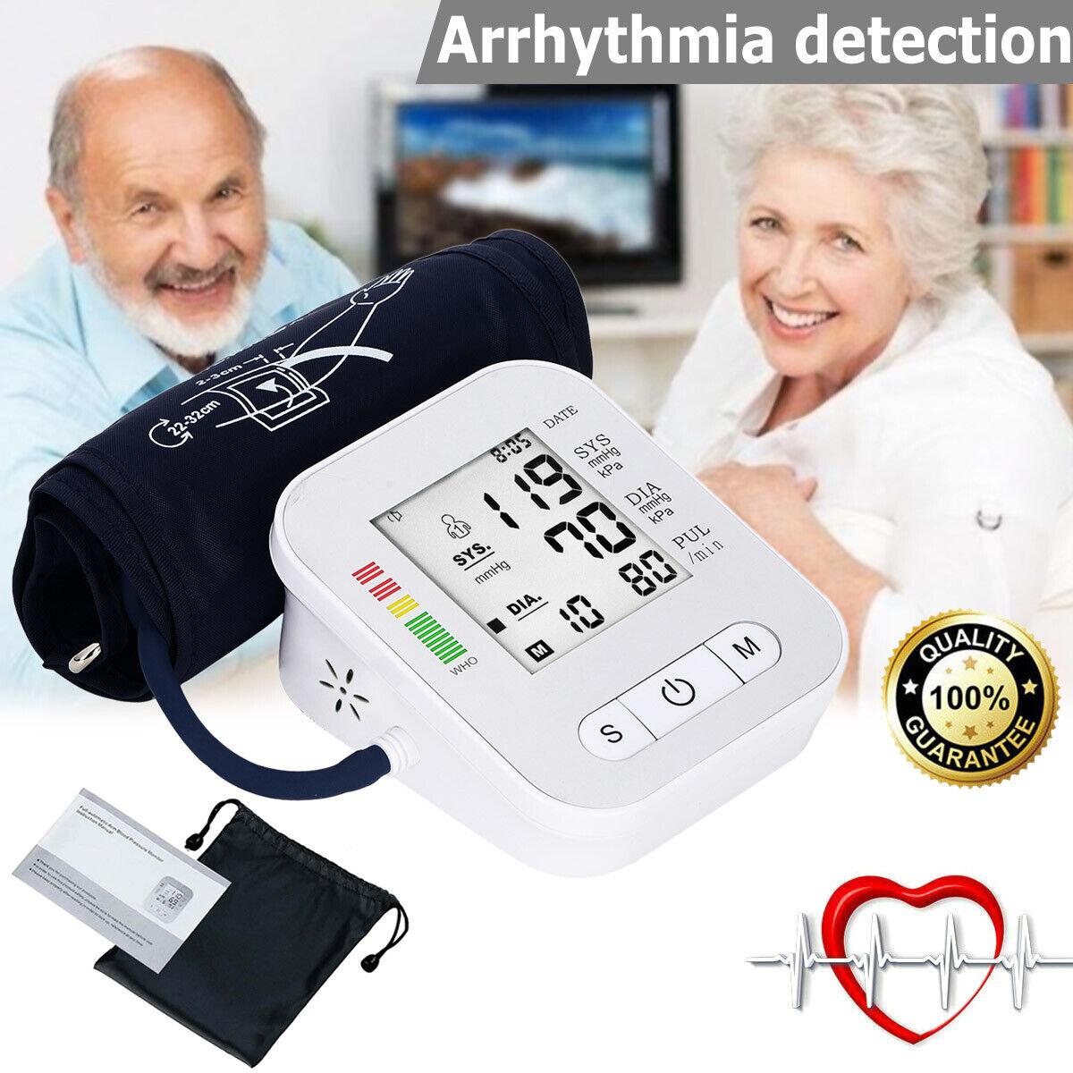 Automatic Digital Arm Blood Pressure Monitor Large BP Cuff G