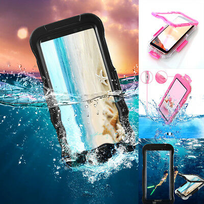 Samsung Galaxy S8 Plus Shockproof Waterproof Dirt Proof Case Full Cover (Best Case For Samsung Galaxy S8)