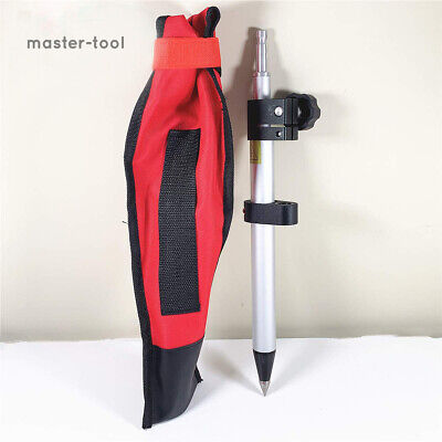 New Telescopic 60cm Mini Prism Poleprecise Tip Stretch For Leica Total Stations