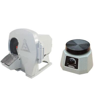 Wet Dental Model Trimmer Abrasive Disc Wheel Gypsum Arch Labvibrator 4 Round
