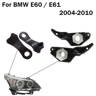 Halogen Headlight Repair Brackets Clips Kit for BMW E60 E61 525i 525xi