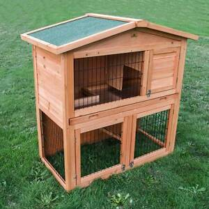 ♥♥♥♥ DOUBLE STOREY HUTCH PULL OUT TRAY ♥♥♥♥ Londonderry Penrith Area Preview