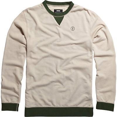 Electric Abbott Crew Sweatshirt (M) Oatmeal